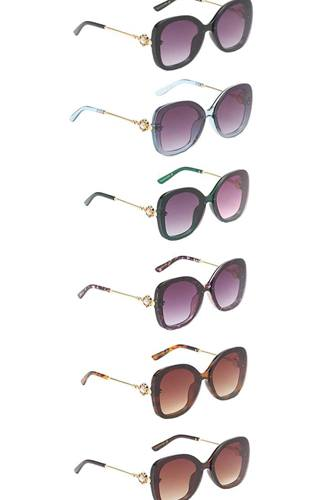 Amazing lens pearl style decorated temple sunglasses-id.cc53986
