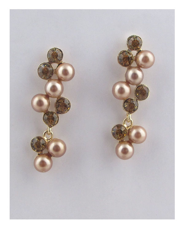 Drop pearlescent earrings-id.CC25792