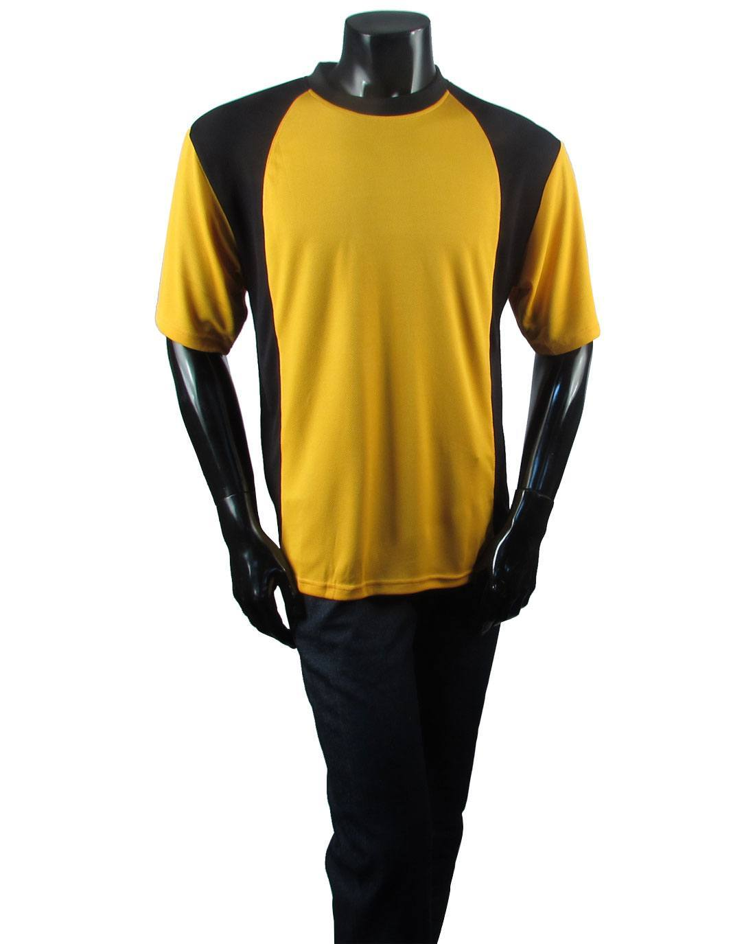 Men's round neck two tone short sleeve jersey-id.27362a