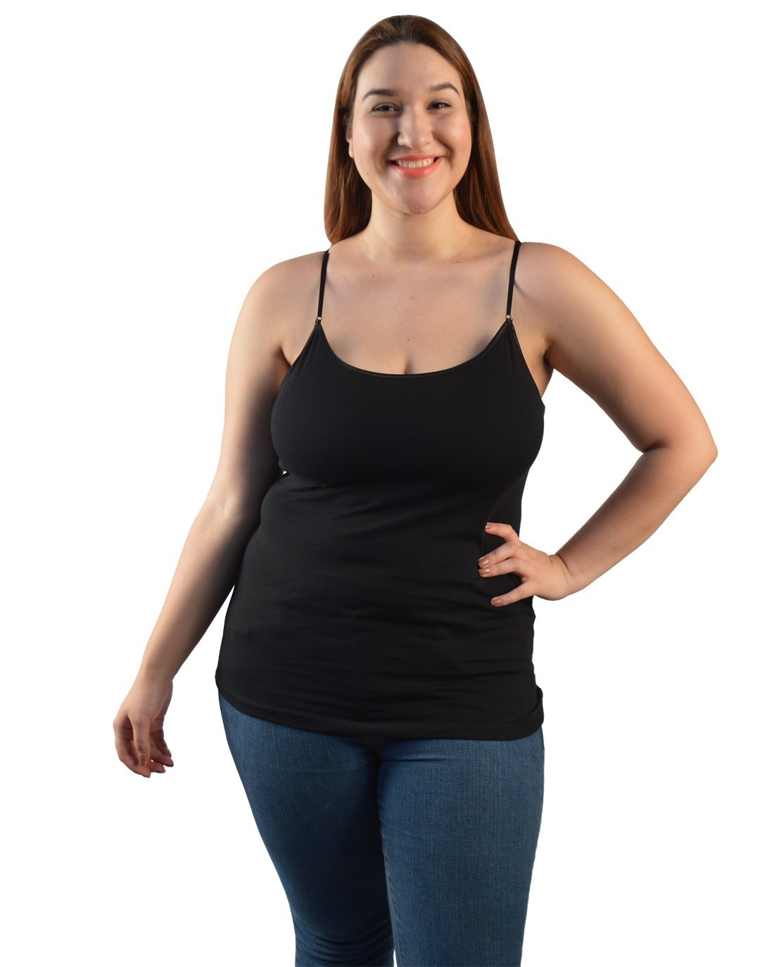Plus Size Built in Bra top-id.29172h