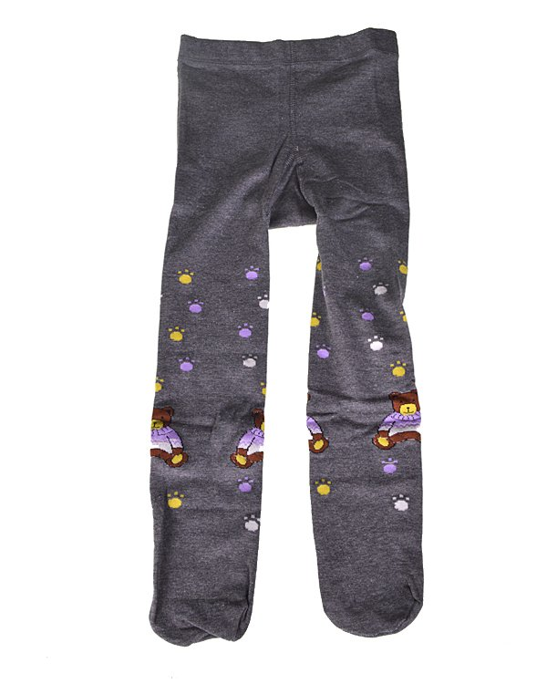 Kids Pantyhose Socks with Multicolored Print-id.31861