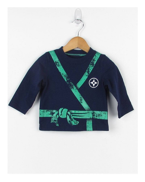 Baby-Toddler boy graphic print long sleeve tee-id.26976