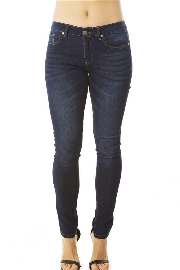 Ladies fashion fitted skinny jeans-id.CC34936