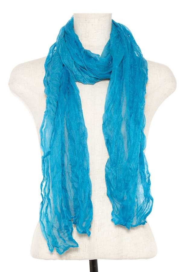 Wrinkled oblong scarf-id.CC35794
