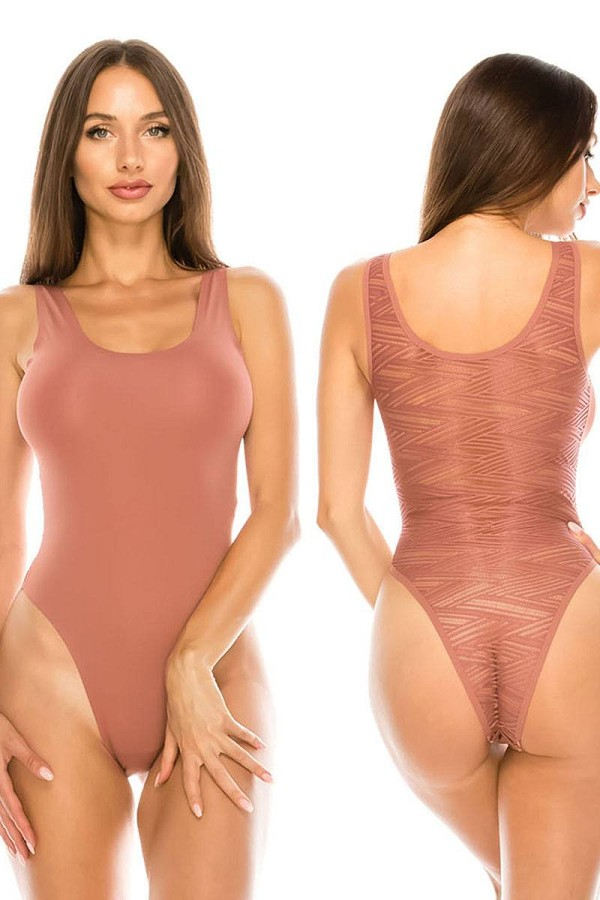 Ladies no show shapewear bodysuit-id.CC36229a