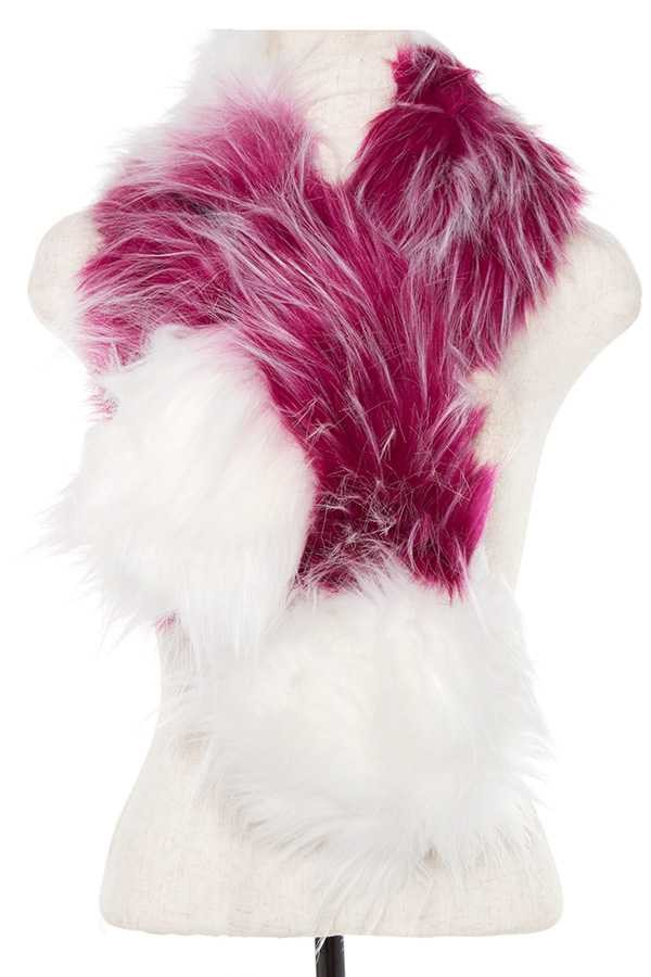 Faux fur two tone neck wrap-id.cc37083