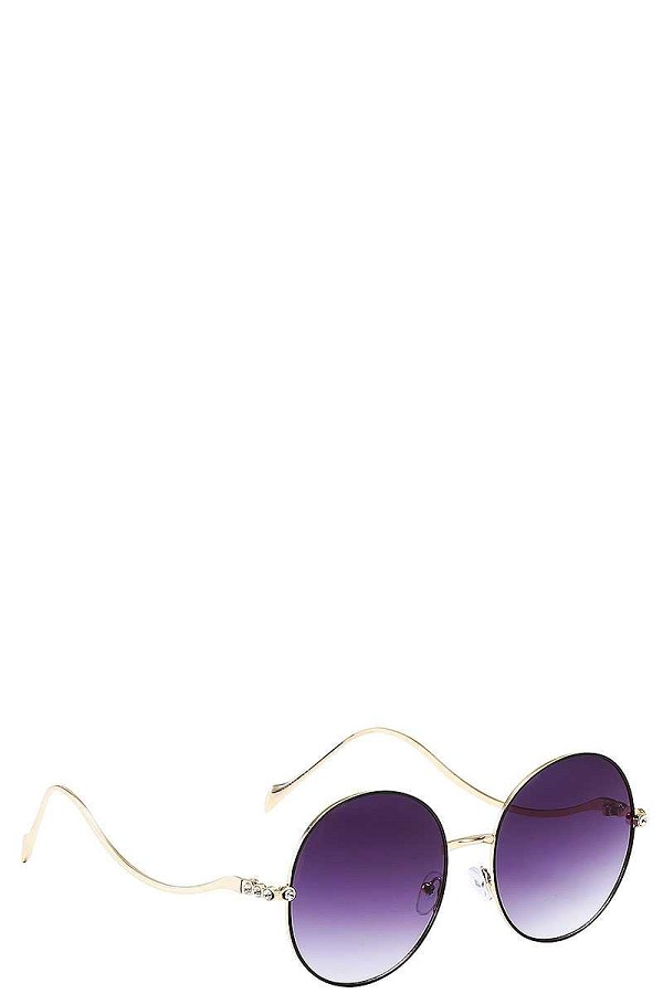 Modern stylish wave frame sunglasses-id.cc37712