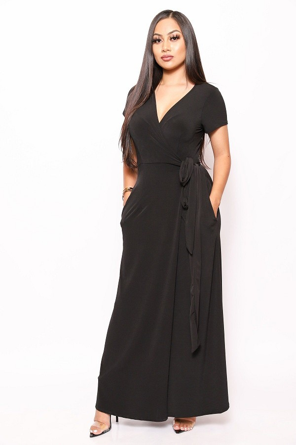 Simple, sexy, and chic floor length wrap dresses-id.cc39833b