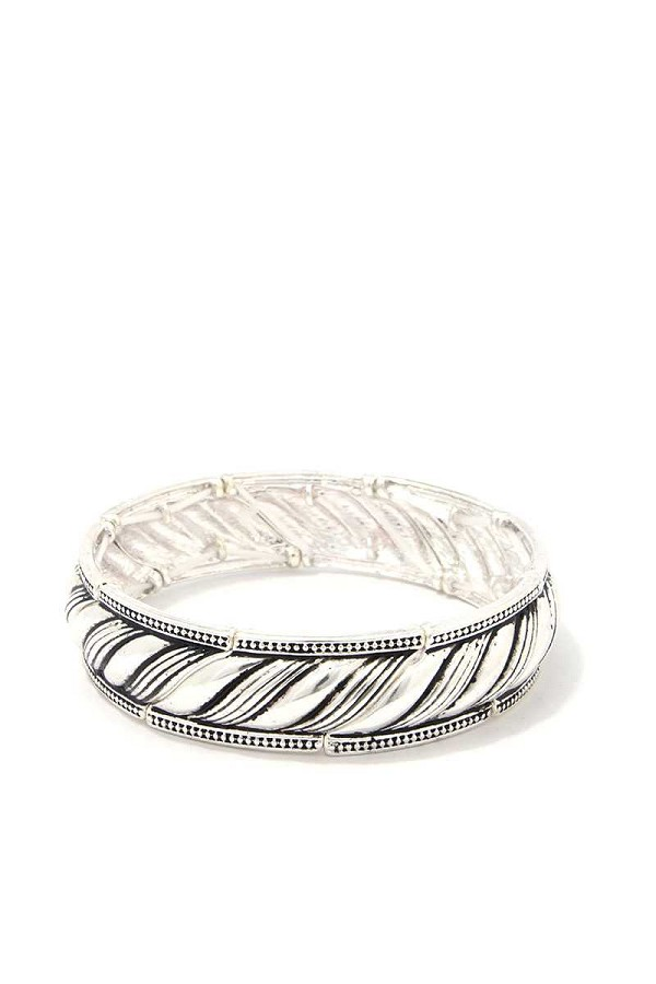 Metal rope stretch bracelet-id.cc39849