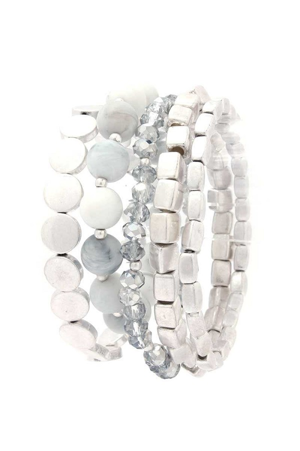 Beaded stretch bracelet-id.cc40086