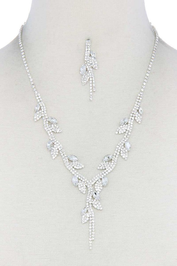 Rhinestone necklace-id.cc40284
