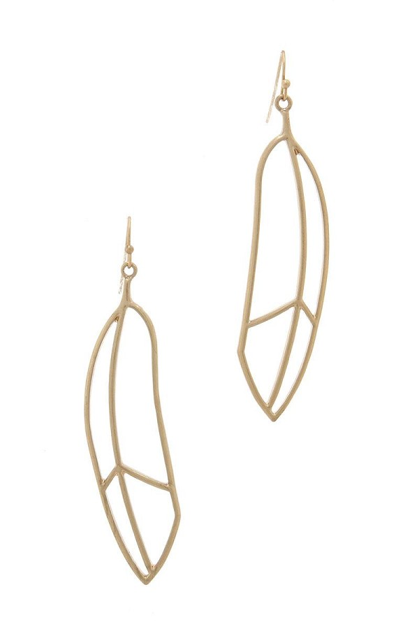Metal drop earring-id.cc40488