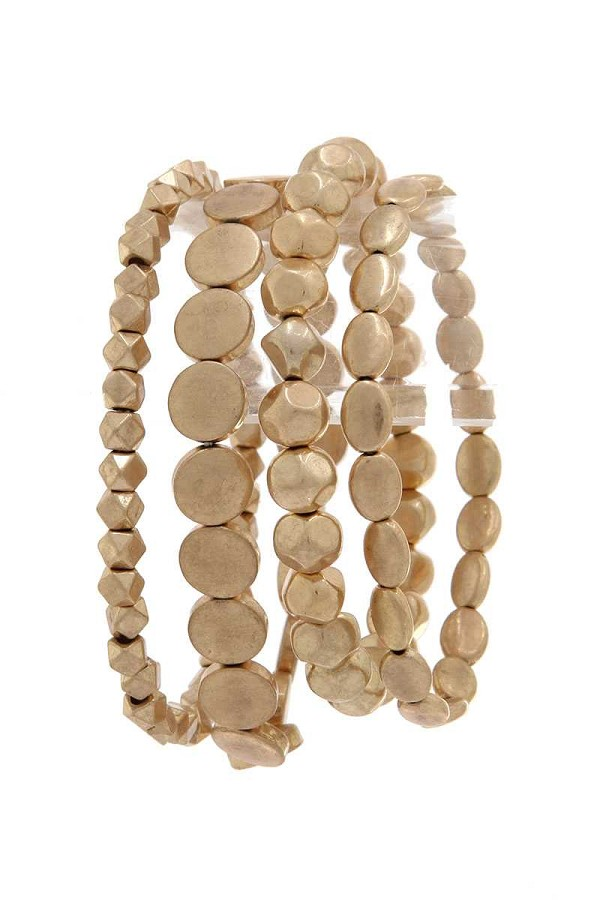 4 layers chic beaded bracelet-id.cc40495