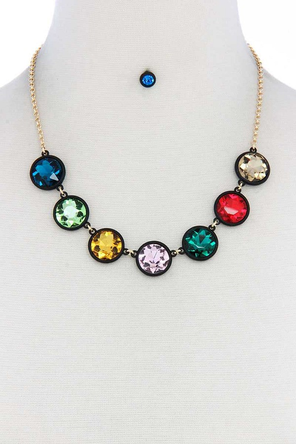 Round shape necklace-id.cc50987