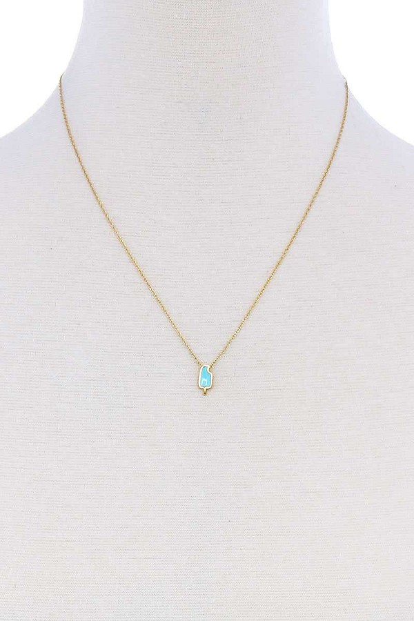 Cute fashion accent brass necklace-id.cc51242