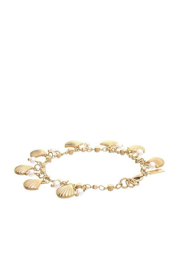 Fashion sea shell dangle bracelet-id.cc51557