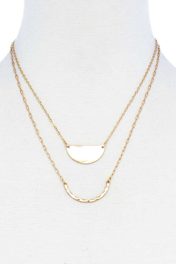 Double layer chic pendant necklace-id.cc51603