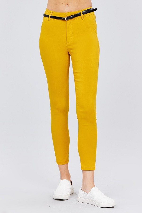 Bengaline belted pants-id.cc51926h