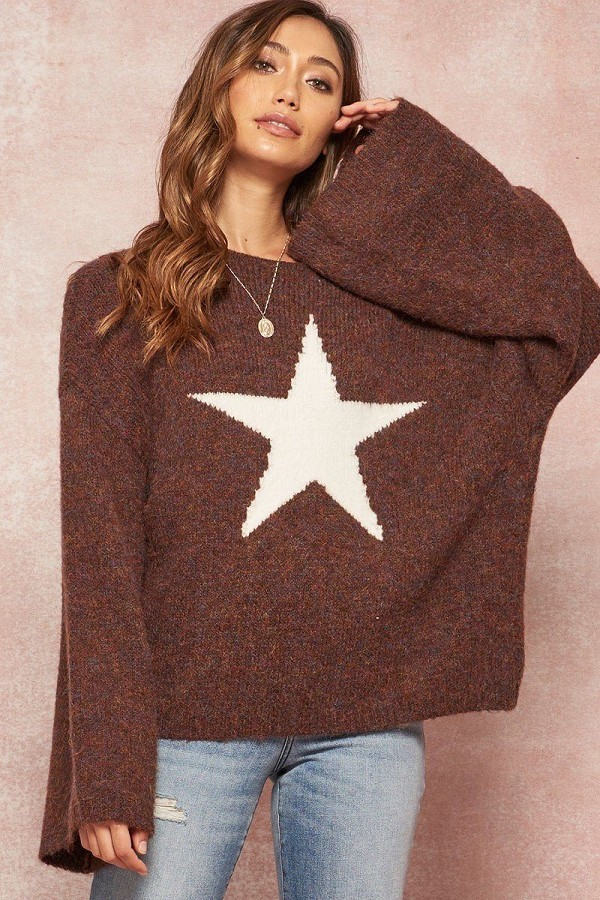 A multicolor fuzzy knit sweater-id.cc53077a